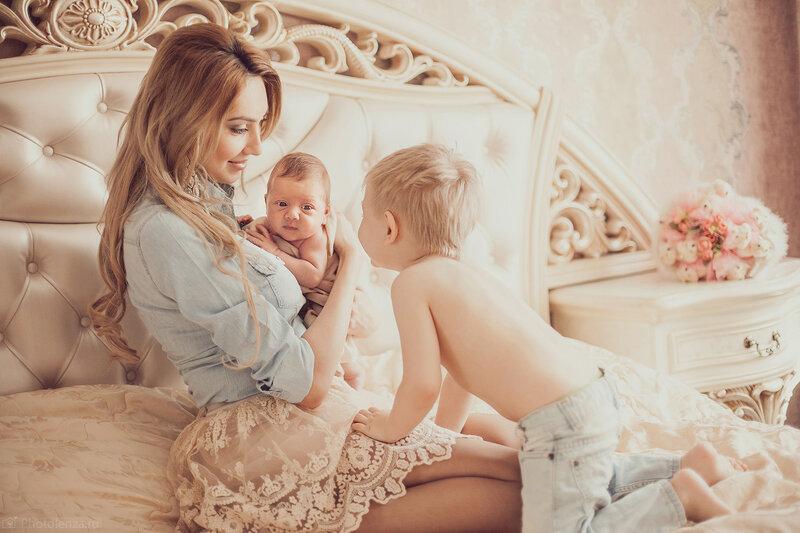 мамы красивые сыновьями фото