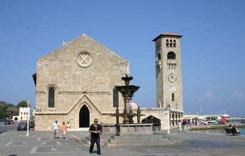 Родос, церковь Благовещения