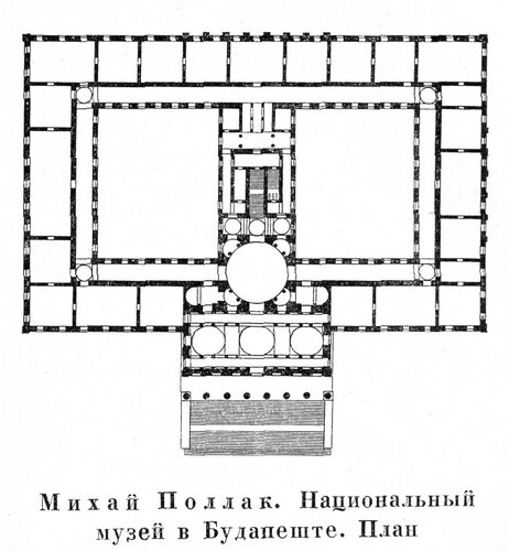Венгерский национальный музей, план