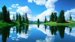 пейзаж природы