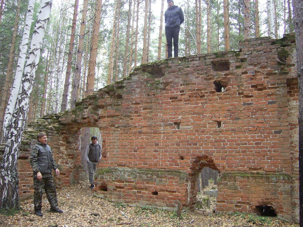 У развалин динамитного завода (09.11.2015)