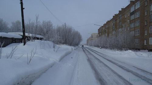 Фото города Инта №3493  Морозова 16, Мира 68 и Морозова 14 10.02.2013_12:03
