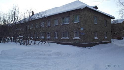 Фото города Инта №3795  Северо-восточный угол Чернова 6 19.02.2013_13:03