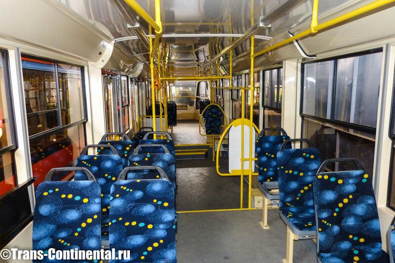 Салон трамвая 71-623