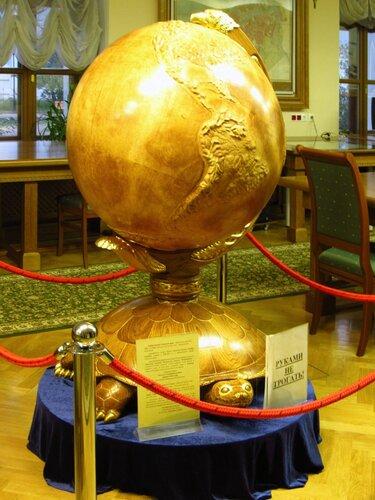 Глобус ацтеков