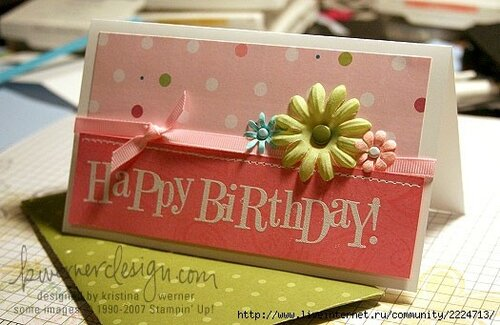 Original greeting card happy birthday online