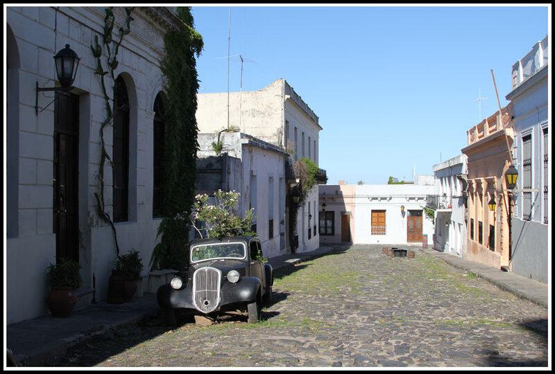 город Колония, государство Уругвай