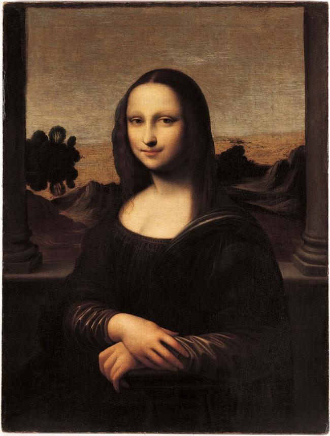 © wikipedia  90% посетителей Лувра приходят туда лишь ради того, чтобы взглянуть насамую заг
