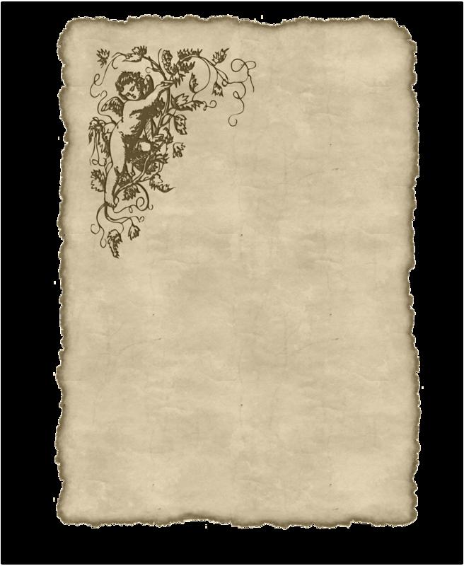 Старая бумага,письмо,страница книги