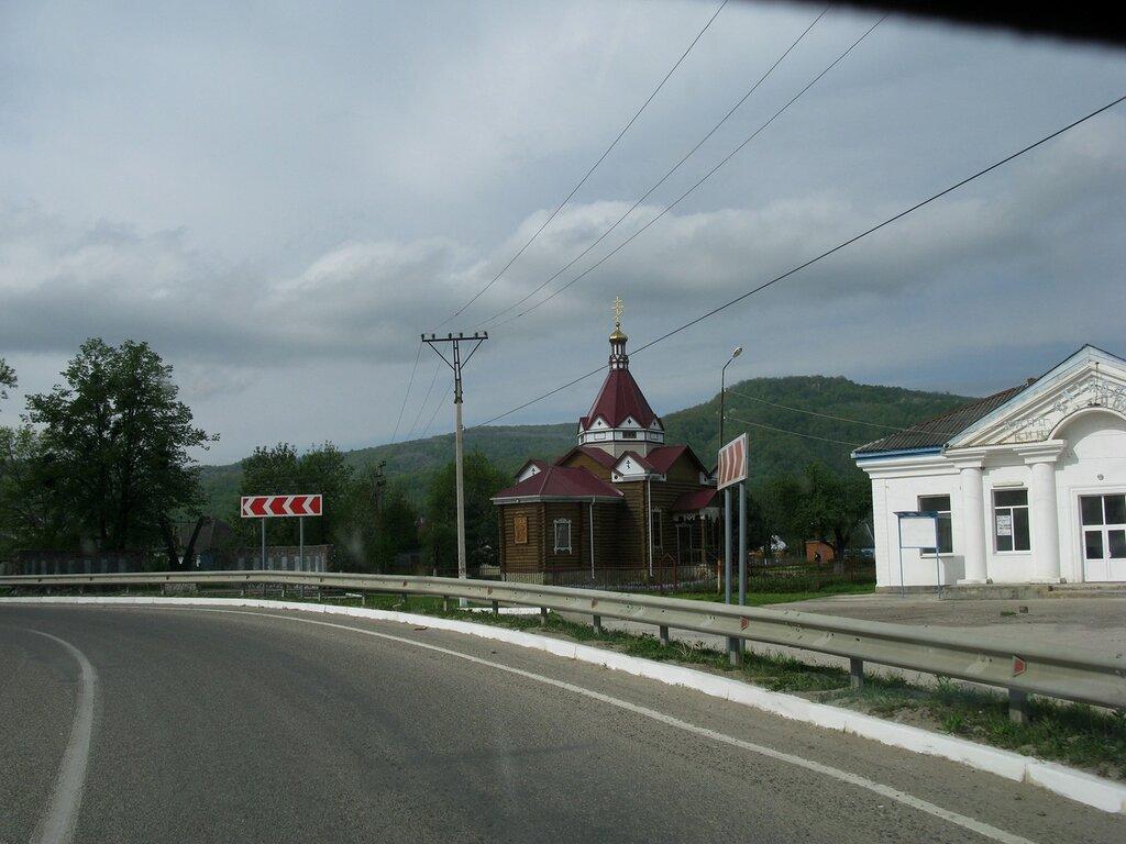 Сев. Кавказ .Фото из окна автомобиля