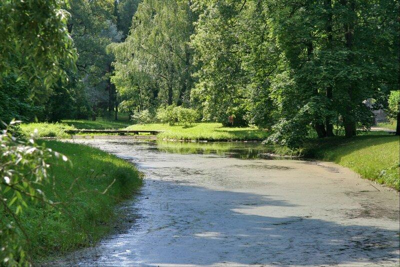 Екатерининский парк, Верхние пруды