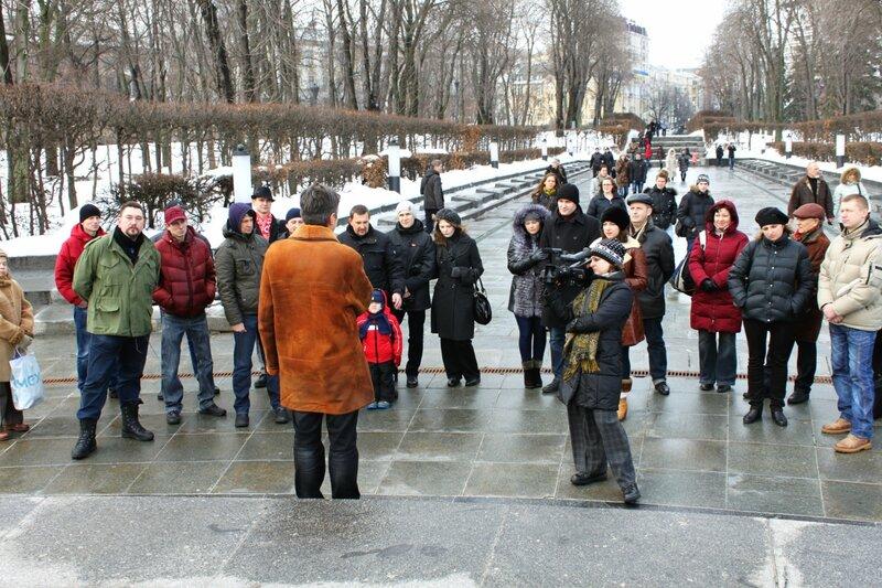 Акция в честь 70 летия победы в Сталинградской битве