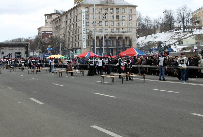 Майдан Незалежности 2 марта 2013 г