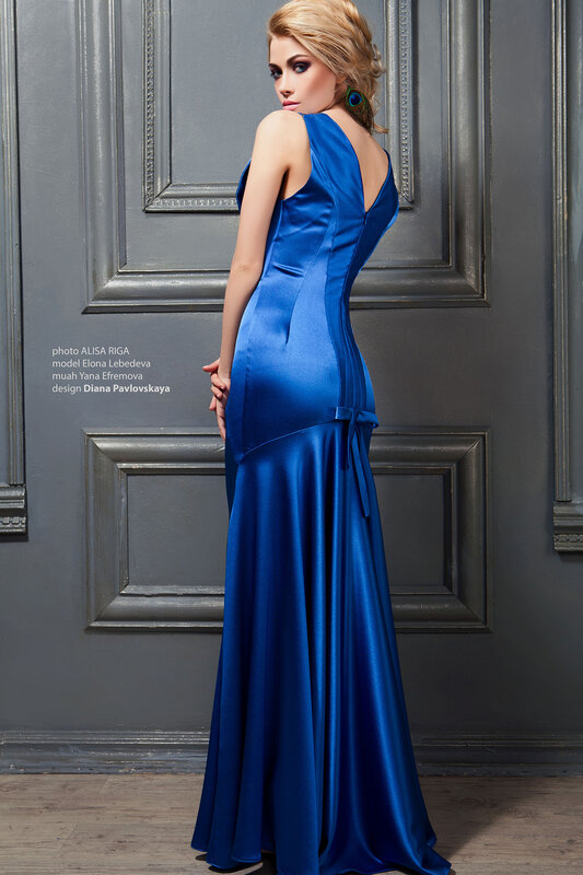 Новогодние плятья.Платье в стиле 20-х, синего цвета- дизайнер ,Диана Павловская,сайт www.fashion-piart.ru