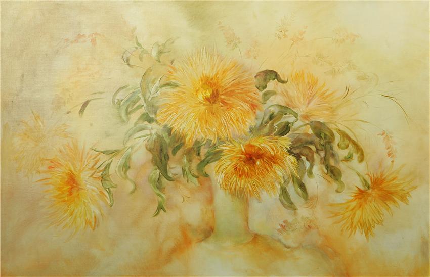 Вальс цветов уходящего лета! Живопись Светланы Петренко