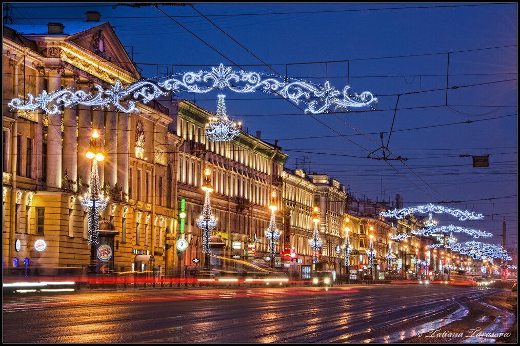 Праздничные вечера. Новогодний Невский - 2013.