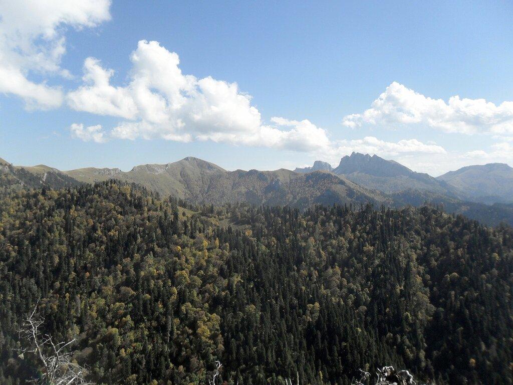Большой Тхач,  Кавказ, сентябрь 2012,