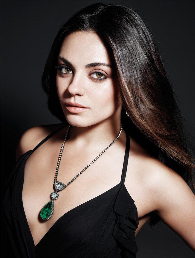 модель Мила Кунис / Mila Kunis, фотограф Mario Sorrenti