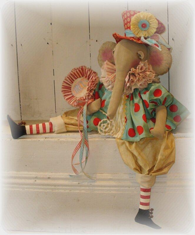 кукла слон