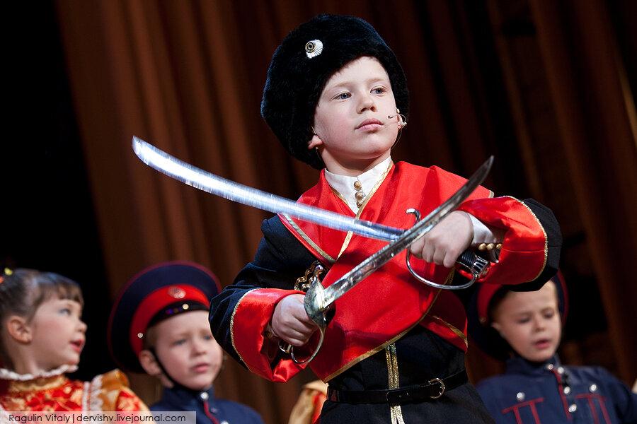 Московский детский казачий хор