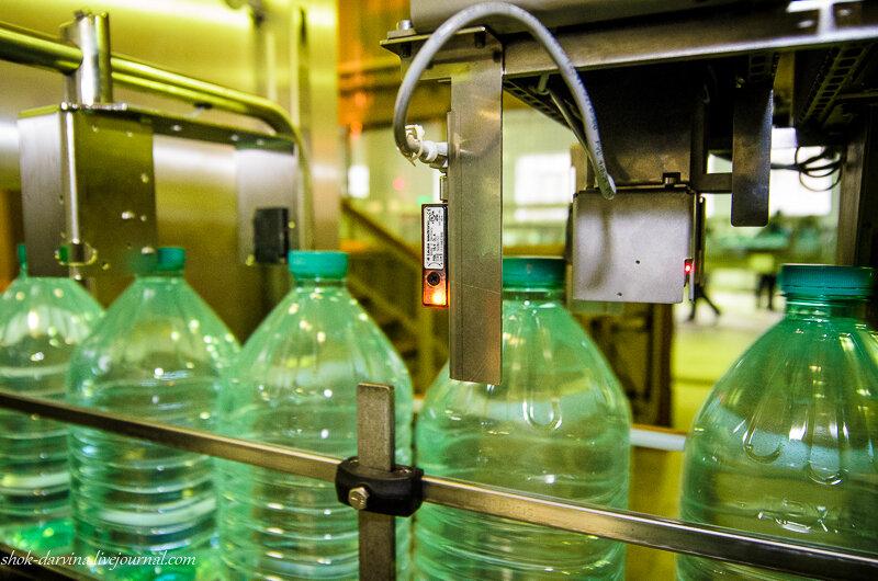 Как производят минеральную воду