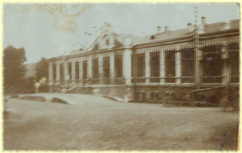 Вокзал в Златоусте. Снято 10 июня