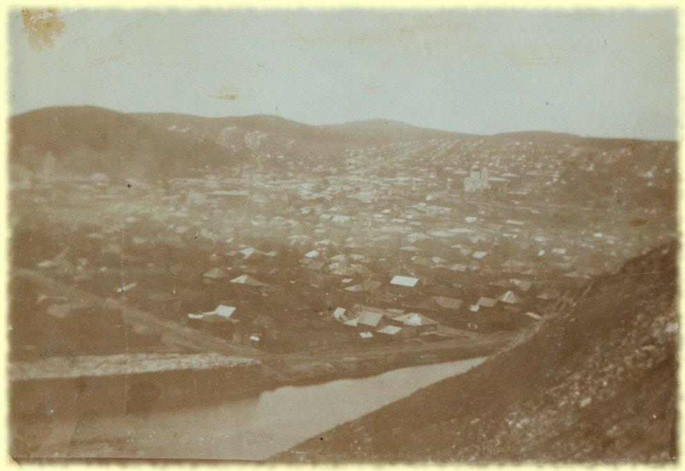 Общий вид города Златоуста. Снято 10 июня