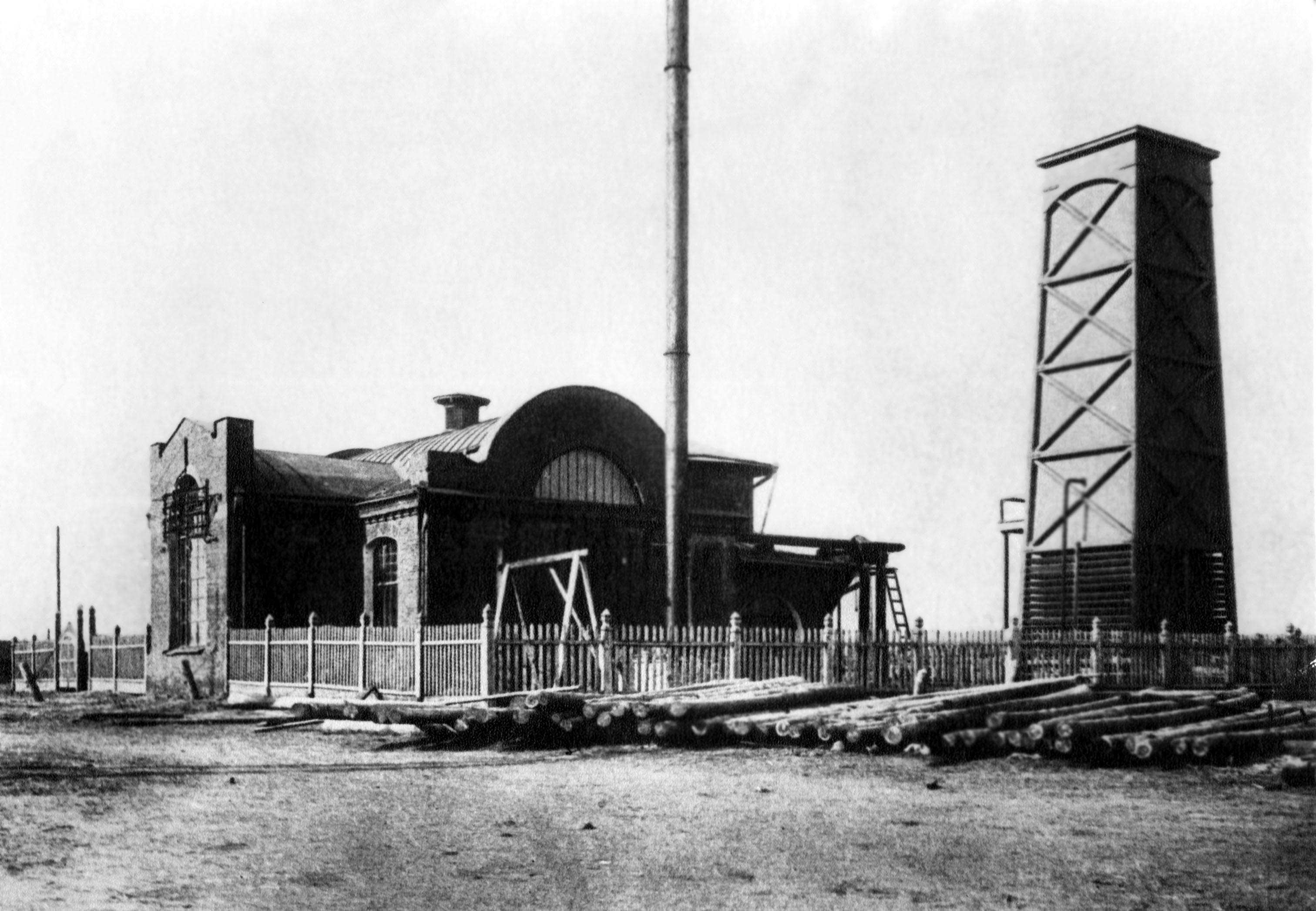 Электростанция, 1913 год