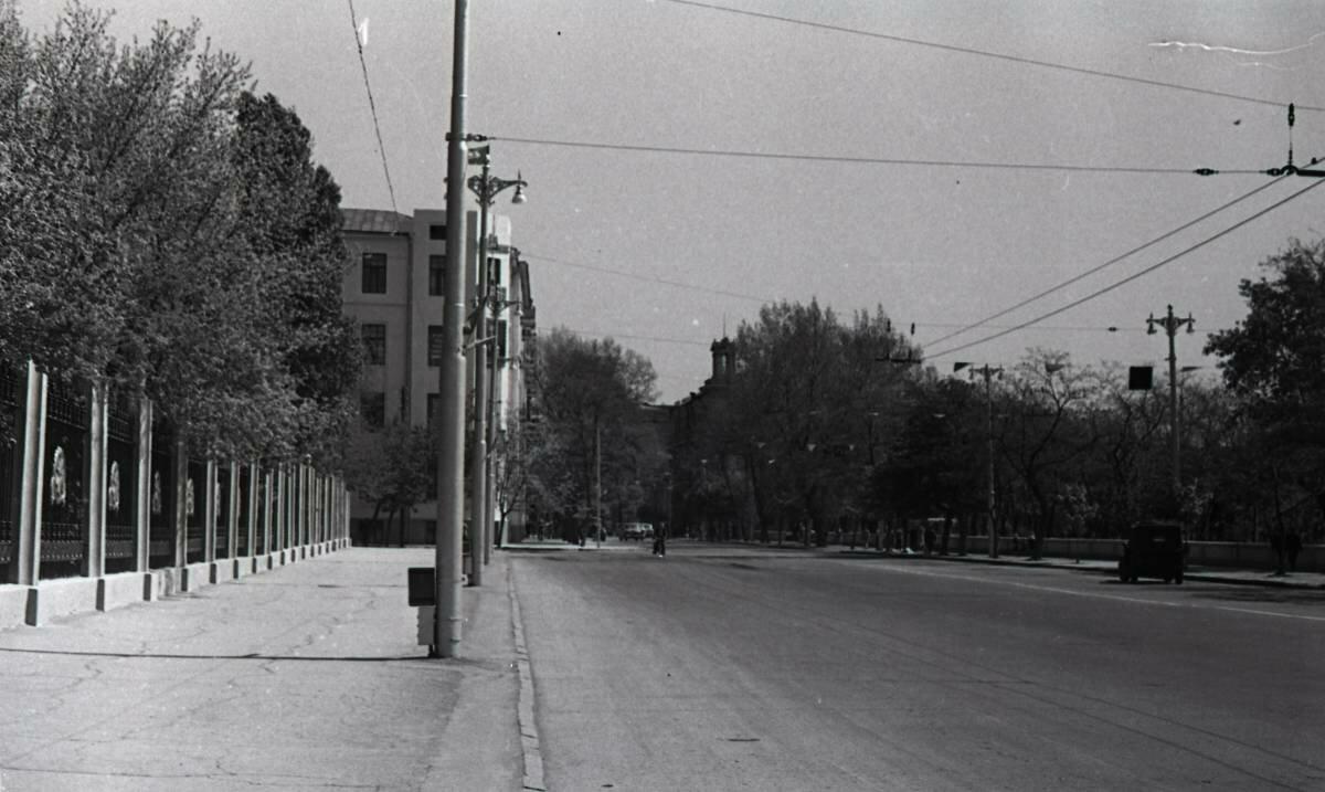 Ул. Советская и начало ограды парка Революции