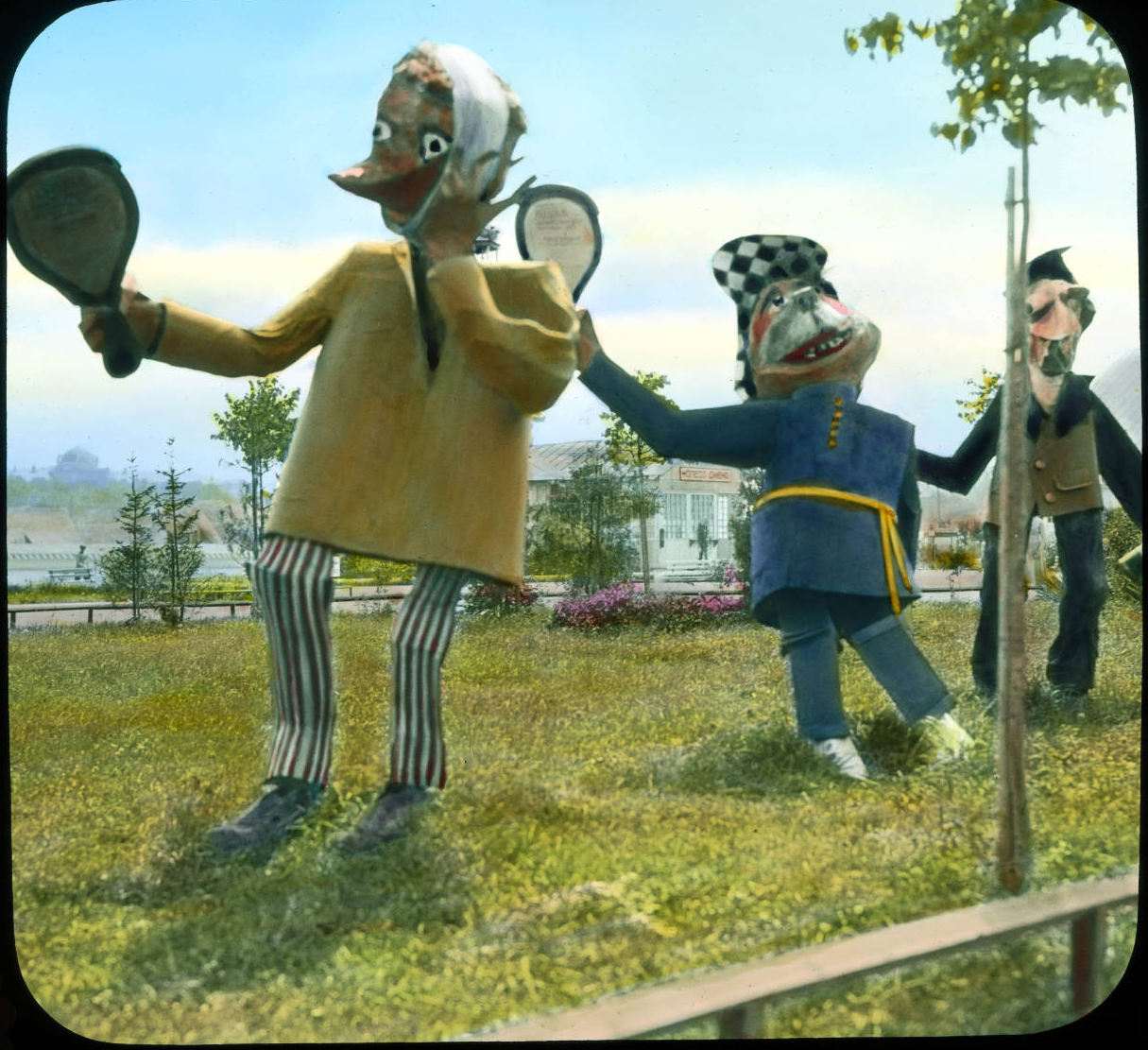 Парк культуры и отдыха (ЦПКиО). Алегорические чучела