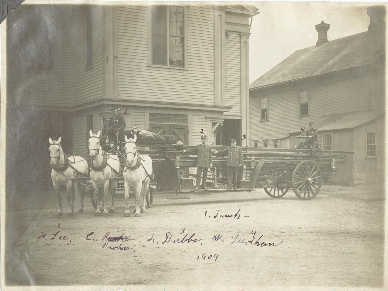 1911. Пожарный пункт №1