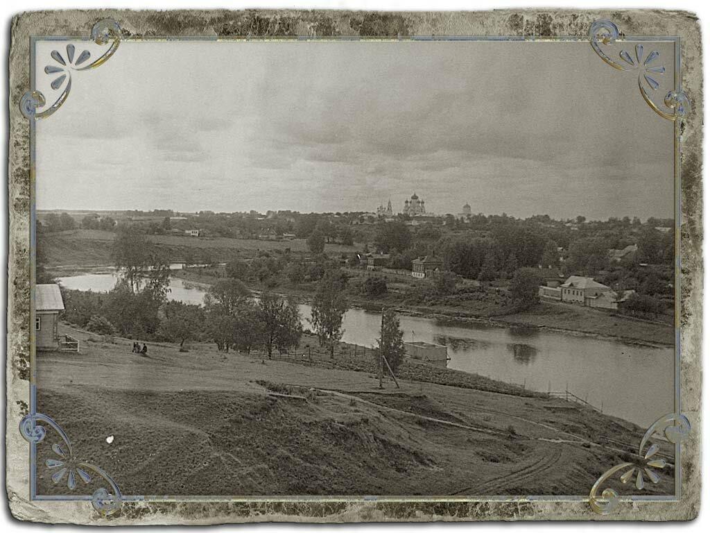 Кашинка и Сретенский монастырь с Сионской горы