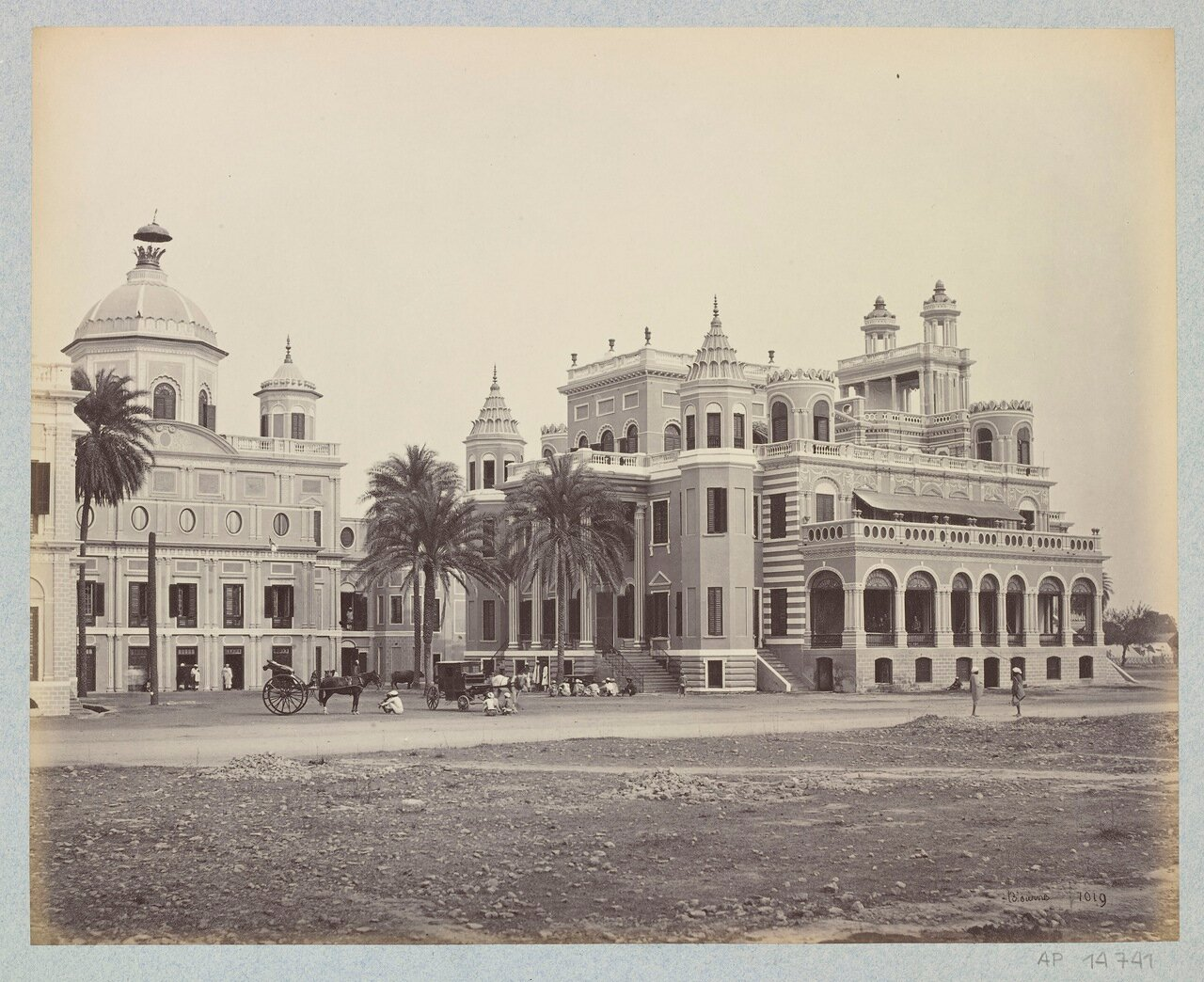Даршан Билас и Чота Чаттар Манзил 1864 г.