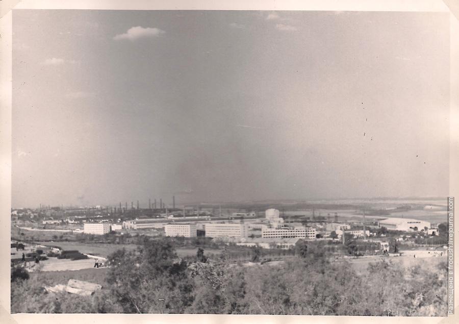 фото 1965 год Вид на Волгоград с Мамаева кургана