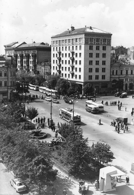 1961.05.19. Бессарабская площадь. Фото: Шамшин К.