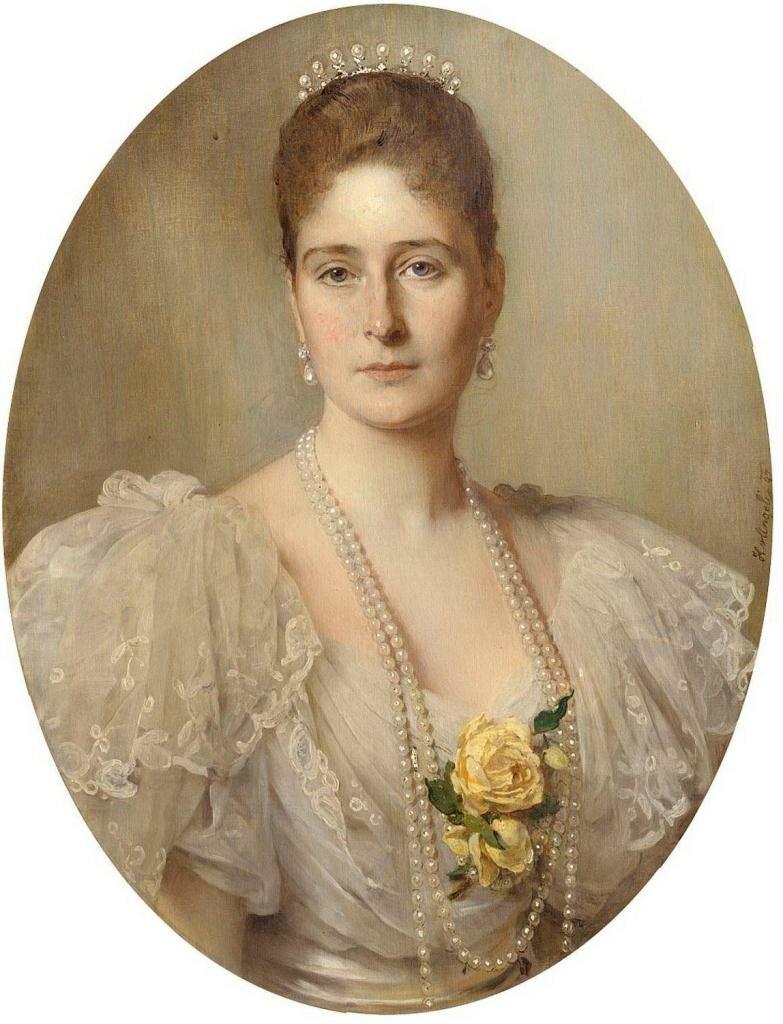 Александра Фёдоровна.(1896 -1897) Ангели, Генрих фон