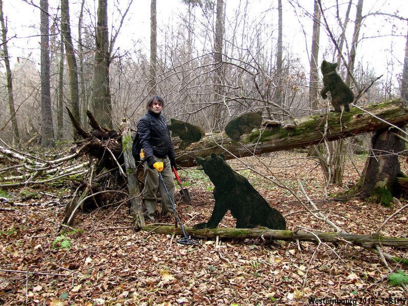1381.17 Хелловин в сосновом лесу