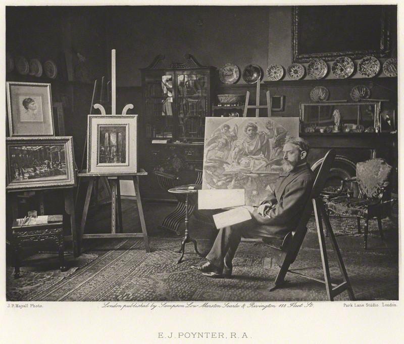 NPG Ax27833; Sir Edward John Poynter, 1st Bt