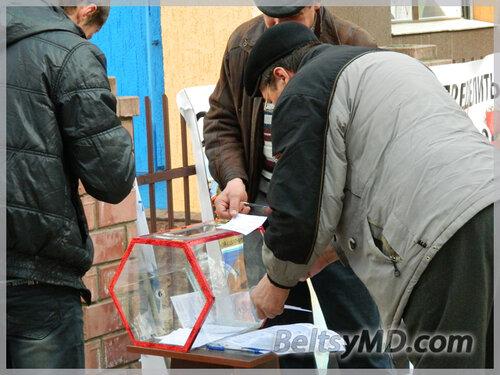 Акция Лиги русской молодёжи в Бельцах «по-вкусу» не всем