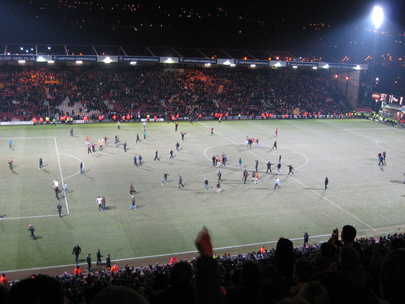 spartaktln: Поход на матч «Брэдфорд» vs «Арсенал» 1/4 Кубка Английской лиги (Фото - Видео)
