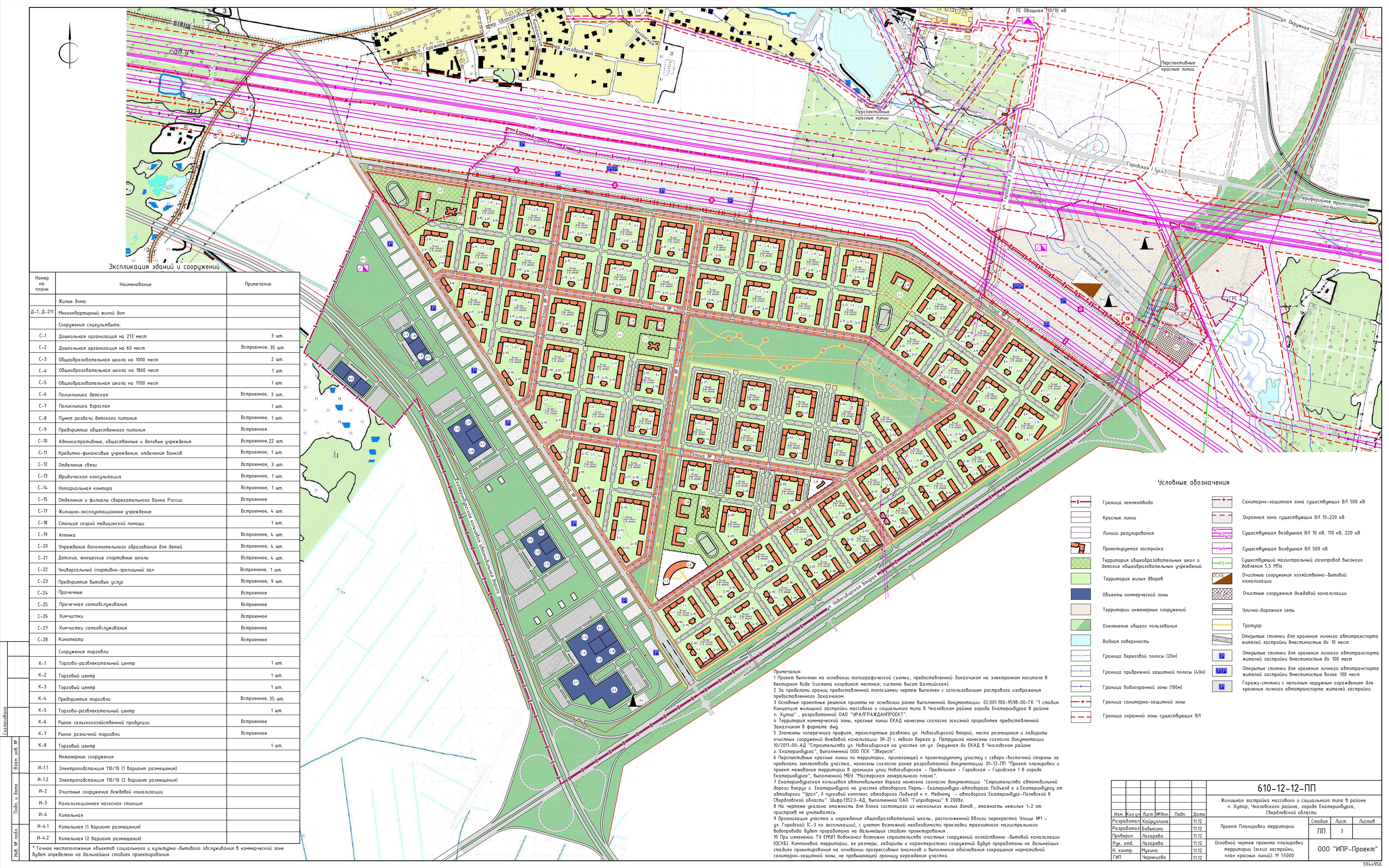 схема застройки юго-восточный район калининграда