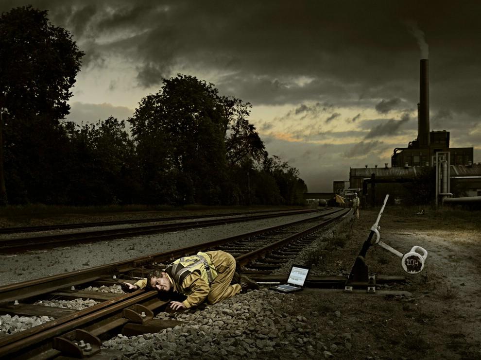 Фотоманипуляции Koen Demuynck