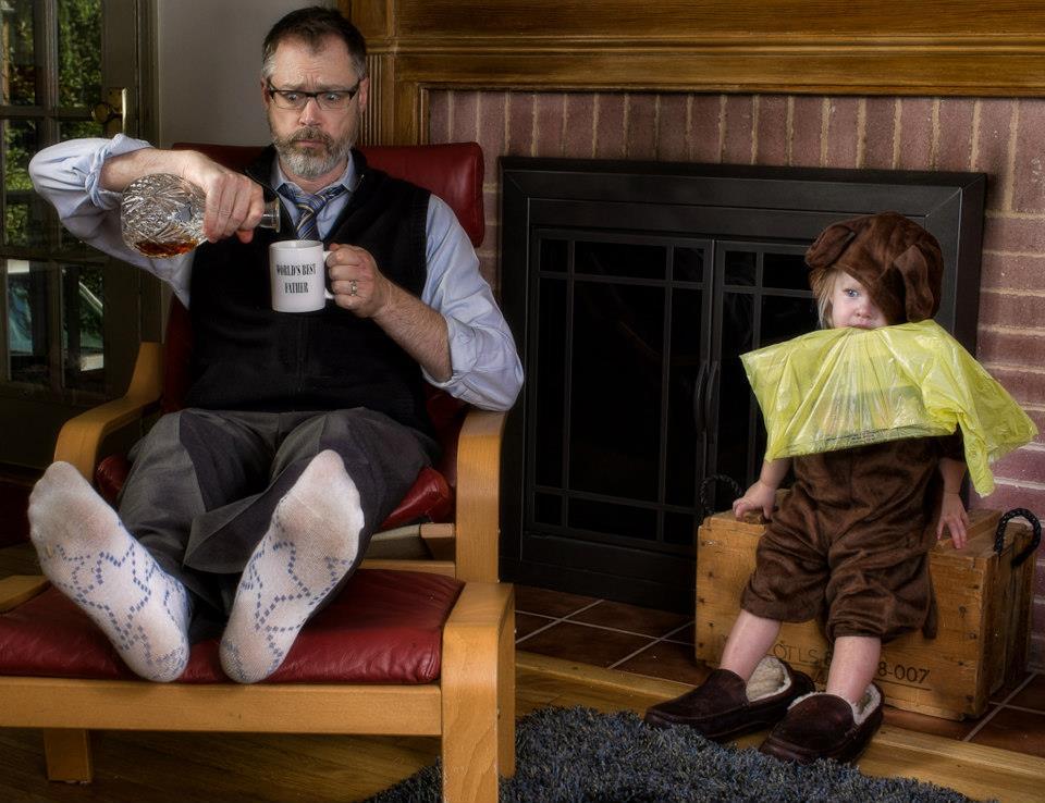 отцы и дочери приколы в картинках сандро так