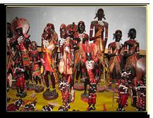 Кения. Сувенирная лавка