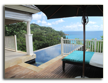 Сейшелы. О. Маэ. Banyan Tree Seychelles. Pool Villa By The Rocks Pool View