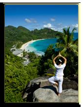 Сейшелы. О. Маэ. Banyan Tree Seychelles. Yoga