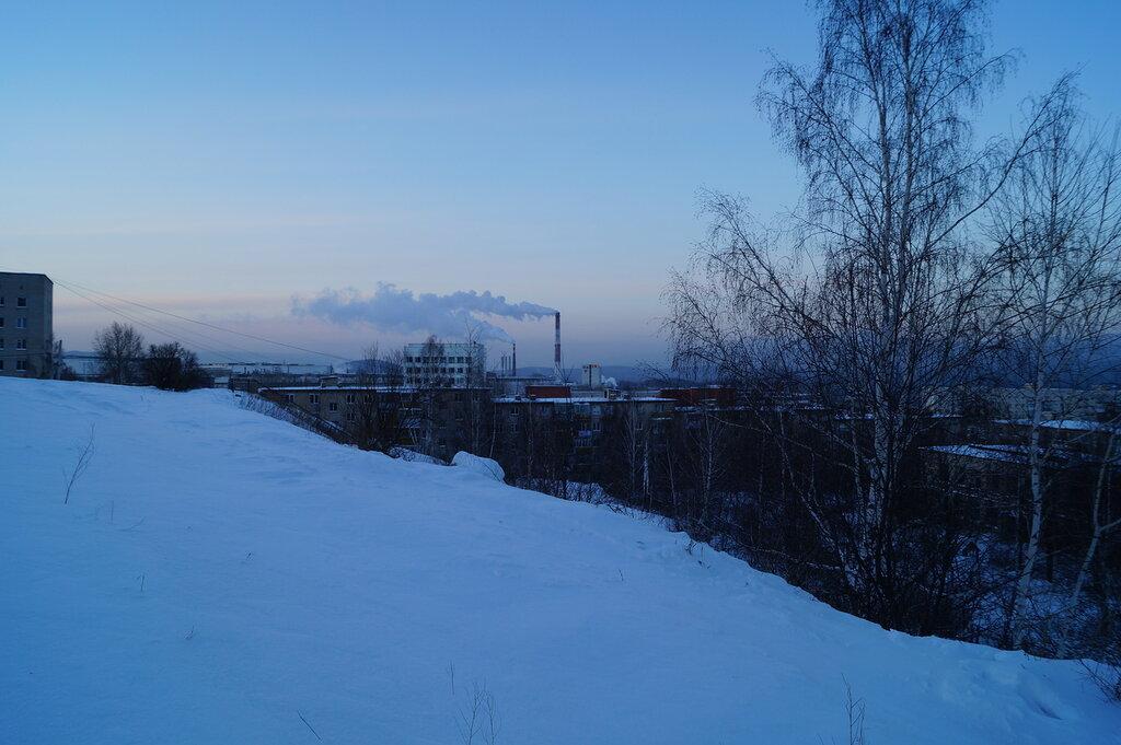 Зимнее утро в Златоусте