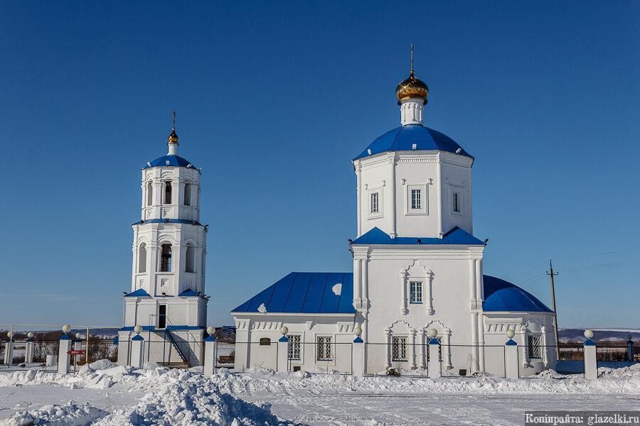Балахчино. Церковь Казанской иконы Божией матери.