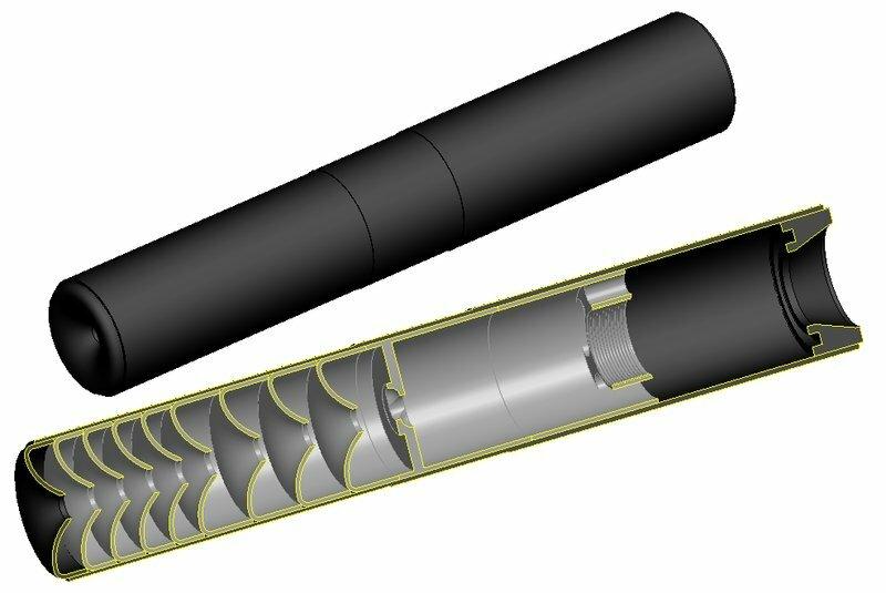 ДВА В ОДНОМ....Самые лучшие надульные глушители уменьшают громкость выстрела из пистолета в пятьсот раз.
