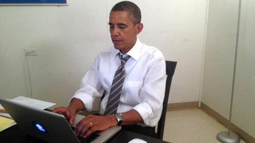 Виртуальные выборы Обамы